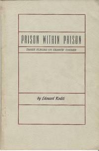 PRISON WITHIN PRISON, THREE ELEGIES ON HEBREW THEMES.