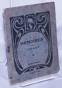 image of Memoiren: Erlebtes, Erforschtes und Erdachtes.  Zweites Bändchen