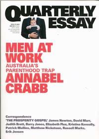 image of Men at Work Australia's Parenthood Trap (Quarterly Essay Issue 75 2019)