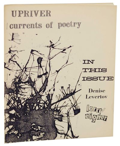 Philadelphia, PA: Upriver, 1966. First edition. Softcover. 27 pages. Literary journal. Features Leve...