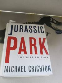 Jurassic Park; SIGNED BY AUTHOR
