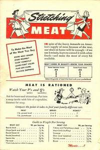 Stretching Meat by  Inc Home Service Staff of General Mills - from M Hofferber Books and Biblio.com