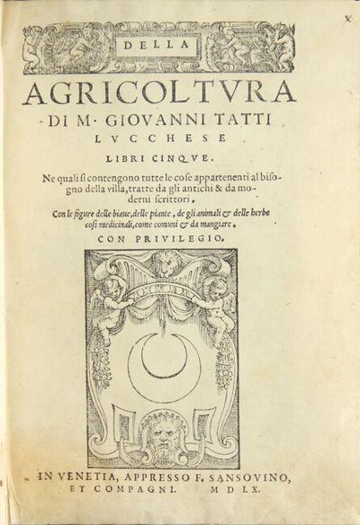 Della Agricoltura di M. Giovanni...
