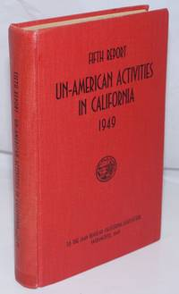 Fifth report of the Senate Fact-Finding Committee on Un-American Activities, 1949