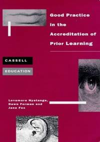 Good Practice Accreditation of Prior Learning (Cassell Education)