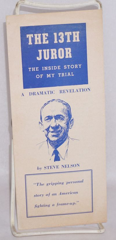 : , 1955. Four-panel brochure introducing the autobiographical book, with a five-paragraph blurb by ...