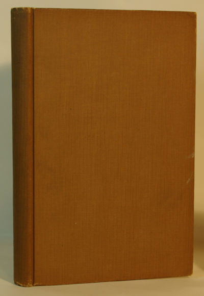 London: Chapman & Hall Ltd., 1928. Limited Edition. Very good+ light brown cloth covered boards with...