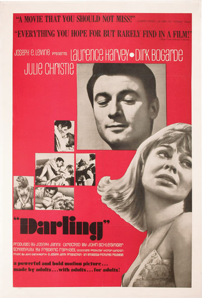 London: Joseph Janni Productions / Embassy Pictures, 1965. Vintage US one sheet poster for the 1965 ...