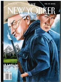 image of NEW YORKER:  COVER: WATCH YOUR BACK MOUNTAIN by MARK ULRIKSEN