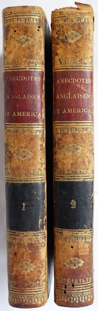 Anecdotes anglaises et américaines. Années 1776 a 1783.
