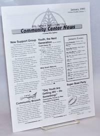 The Billy DeFrank Lesbian & Gay Community Center News: January 1995