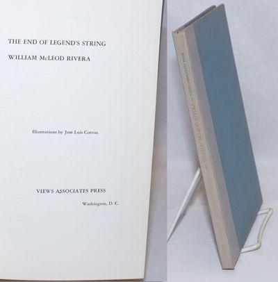 Washington DC: Views Associates Press, 1960. Hardcover. 62p., poems, drawings, very good first editi...