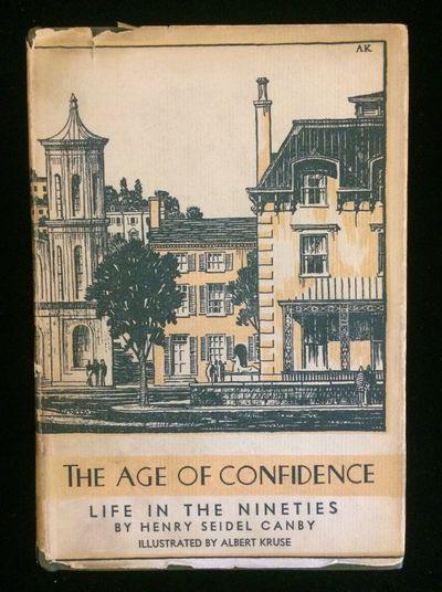NY: Farrar & Rinehart, 1934. 1st Edition. Hardcover. Very Good +/Very Good -. Memoir of American man...