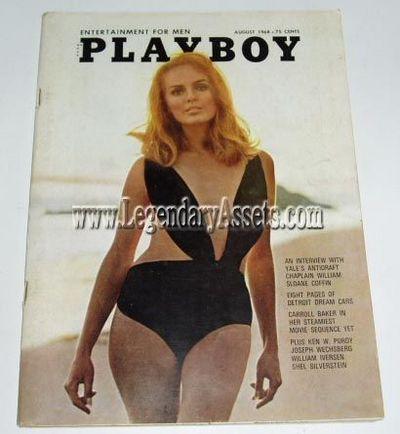 Playboy Magazine August 1974 Jean Manson Andy Warhol C. Lennea FREE SHIPPING