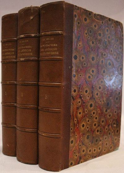 3 volumes; xxviii+862 pages with two fold out plates and numerous illustrations; xxxvi+1107 pages wi...