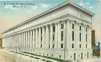 New York State Education Building. Albany New York 1915 used Postcard