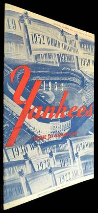 New York Yankees Scorecard - 23 April 1953 vs Boston
