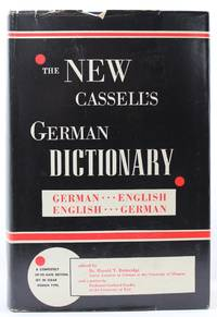 THE NEW CASSELL'S GERMAN DICTIONARY: German-English, English-German