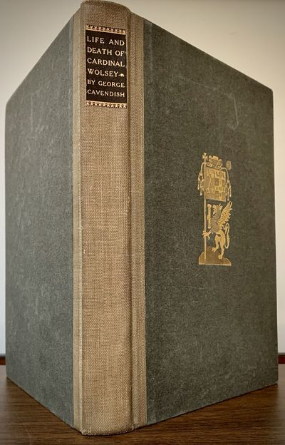Boston & New York: Houghton Mifflin, 1905. Hardcover. Orig. brown cloth spine, decorated boards, fro...