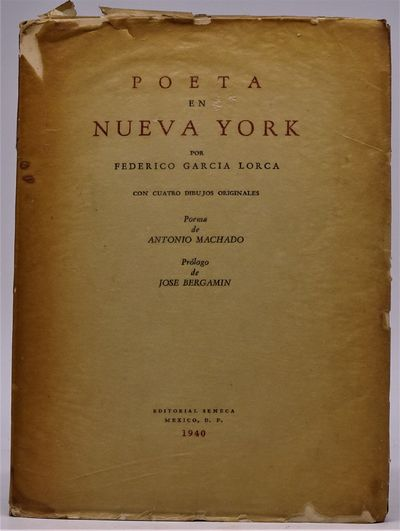 Mexico: Arbol, Editorial Seneca, 1940. First Illustrated Edition and First Edition in Spanish, prece...