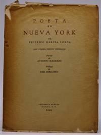 Poeta en Nueva York; con cuatro dibujos originales