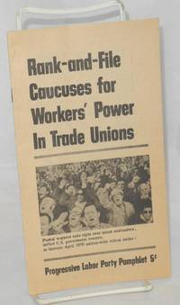 image of Rank-and-file caucuses for workers' power in trade unions