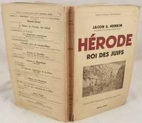 HERODE ROI DES JUIFS