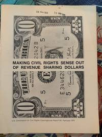 image of Making Civil RIghts Sense Out of Revenue Sharing Dollars