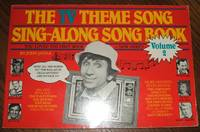 image of The Tv Theme Song Sing-Along Songbook Volume 2