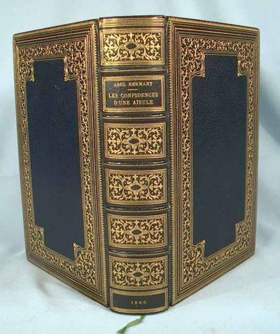 1900. MORIN, Louis. HERMANT, Abel. LES CONFIDENCES D'UNE AIEULE (1788-1863). Paris: Societe d'Editio...