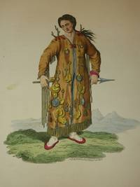 The Costume of the Russian Empire 1811. Original Hand Coloured Engraving by John Dadley (after Johann Gottlieb Georgi). Plate XLVII: A Tongusian Priest, in the Vicinity of the Argoun [Tungusic People/Manchu-Tungus/Siberia]