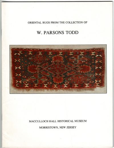 Morristown, NJ: MacCulloch Hall Historical Museum, 1992. First edition, 4to, pp. 48; plain and color...