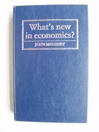 image of What's New in Economics?