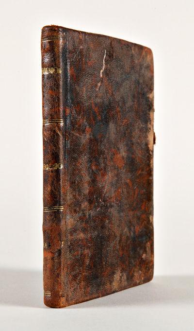 Mexico: Imprenta a cargo de Martin Rivera, 1823. ,66pp. Small octavo. Contemporary mottled Mexican s...