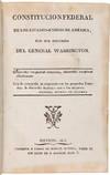 View Image 2 of 6 for CONSTITUCION FEDERAL DE LOS ESTADOS-UNIDOS DE AMERICA, CON DOS DISCURSOS DEL GENERAL WASHINGTON Inventory #WRCAM55421