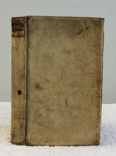 Bernardum Gaultheri, 1623. 1st Edition. Hardcover. Full vellum. 351p. 3 7/8