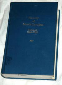 History of North Carolina: Volume I