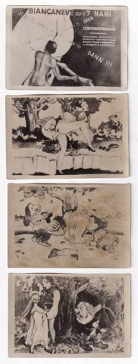 image of Snow White and the Seven Dwarves [Biancaneve e i sette nani] (Collection of ten original photographs from the circa 1930s animated adult short film)