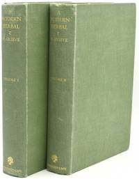 [GARDENING] [COOKERY] A MODERN HERBAL. THE MEDICINAL, CULINARY, COSMETIC AND ECONOMIC PROPERTIES, CULTIVATION AND FOLK-LORE OF HERBS, GRASSES, FUNGI, SHRUBS & TREES WITH ALL THEIR MODERN SCIENTIFIC USES (2 VOLUMES)