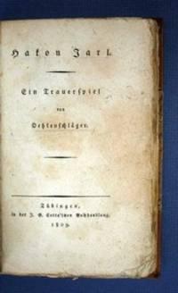 Tübingen: J.G. Cotta, 1809. 1st edition. 19th C. tan half-calf with marbled boards & eps. Maroon sp...