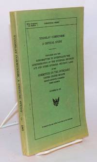 Yugoslav communism, a critical study of its socioeconomic, legal, and political aspects. Prepared for the Subcommittee to investigate the administration of the internal security act [etc.] October 18, 1961
