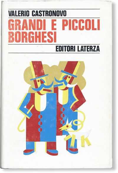 : Editori Laterza, 1988. First Edition. Hardcover. Octavo (21cm.); publisher's cloth in white pictor...