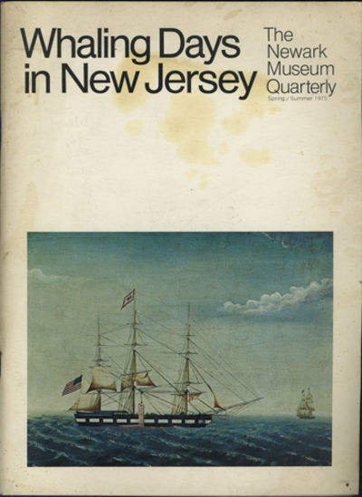 Newark: Newark Museum, 1975. First edition. Stiff paper wrappers. A very good copy with soiling on w...