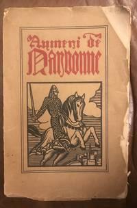 Aymeri de Narbonne. Chanson de geste du trouvère Bertrand de Bar