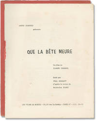 image of This Man Must Die [Que la bete meure] (Original screenplay for the 1969 French film noir)