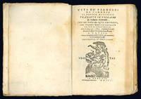 Vite de' prencipi di Vinegia di Pietro Marcello, tradotte in volgare da Lodovico Domenichi. Con le vite di quei prencipi, che furono doppo il Barbarigo, fino al doge Priuli. Nelle quali s'ha cognitione di tutte le istorie venetiane fino all'anno 1558. Con una copiosissima tavola di tutte le cose memorabili, che si contengono in esse.