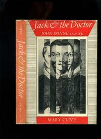 Jack and the Doctor: John Donne 1572-1631