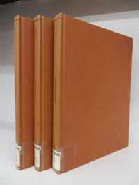 A History of Philosophy (1687). In Three Volumes