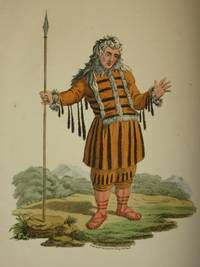 The Costume of the Russian Empire 1811. Original Hand Coloured Engraving by John Dadley (after Johann Gottlieb Georgi). Plate LV: A Koriak in his Holiday Dress [Koryak/Siberia]