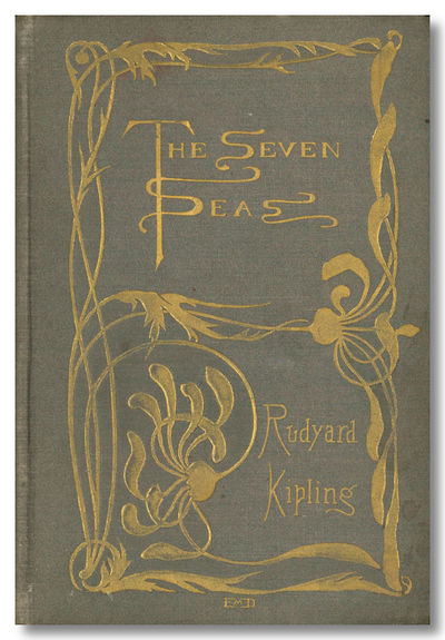 New York: D. Appleton, 1896. Gray cloth with metallic tones, elaborately decorated in gilt, t.e.g., ...